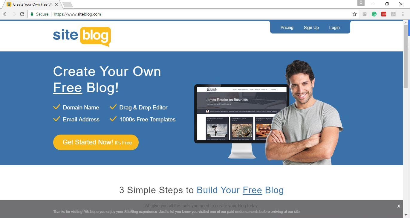 Siteblog Summary