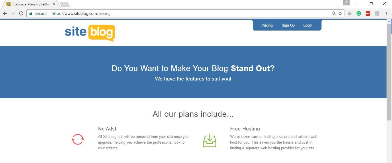 Siteblog Value